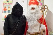 Luxemburg Kleeschen of Zinniklos Houseker Hǒséker. / In Luxemburg heet Sinterklaas: Kleeschen of Zinniklos. Zijn duistere gezel heet Houseker of Hǒséker.