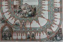Sint Nicolaas spel ca. 1885 / Sinterklaas / St. Nicolaas spel ca. 1885, Uitgave: J. Vlieger, Amsterdam   (papier bordspel, afm. 60 x 46 cm)