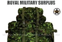Military Backpacks & Bags / The BACKPACKS & BAGS Section presents Tactical Backpacks, Assault Packs, Patrol Packs, MOLLE Backpacks, Rucksacks, and other Military Backpack Systems in use by Army/Military/Special Forces of USA, Canada, United Kingdom, Germany, France, Russia, Italy, NATO, International Military & Security Forces. Visit our Website at www.royalmilitarysurplus.com
