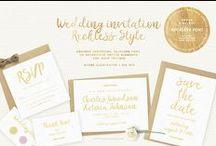 Wedding invitation / Wedding invitation