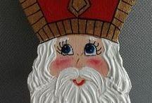 Sinterklaas Saint Nicholas Sankt Nicolas beelden en ornamenten uit het buitenland / Sinterklaas / St. Nicolaas beelden en ornamenten uit het buitenland.