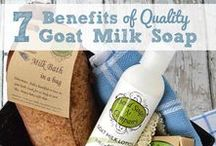 Goats Milk Soap / The Beauty, Wellness & Skin Benefits of Organic Goats Milk Soap. Goats Milk Scents & Essential Oils