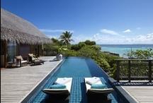 Villas in Maldives / Discover Shangri-La's Villingili Resort & Spa's luxurious villas with sensational sea views. Visit our website to see more! http://www.shangri-la.com/male/villingiliresort/rooms-suites/ / by Shangri-La 's Villingili Resort & Spa, Maldives