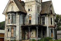 manoirs - châteaux - lieux abandonnés
