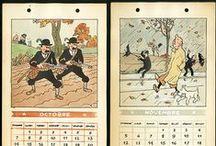 sérigraphies - albums -  objets Tintin et Jo et Zette