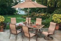 Take it Outside / Enjoy the outdoors in comfort and style from you backyard, deck, porch or patio. A great place to bring together family and friends.
