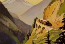 affiches - travel posters