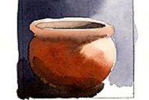 aquarelles - watercolor