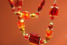Kraftymistress jewelry / My collection of glass beaded necklaces, for sale on www.etsy.com/shop/kraftymistress