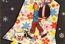Journaux Tintin - couvertures Hergé / Éditions françaises et belges