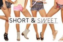 Short and Sweet / Lost in Paradises shorts collection