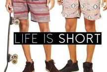 Life is SHORT so LIVE IT UP