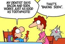 Dental Humor / The quickest way to feel better in any situation is to laugh! Here at the office of Dr. Jared Slovan in Tempe AZ, we love to laugh, even if it is at ourselves.