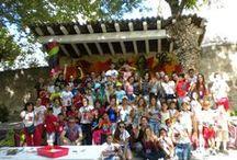 Gymkana Seguntina 2014 / En esta segunda edición de la Gymkana seguntina contaremos con la colaboración de la Asociación Juvenil Cultural Abriendo Camino de Sigüenza. Se realizó el 5 de julio de 2014 de 17:00 a 21:00 h.