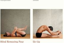 Hooked on YOGA / So love yoga as it increases your flexibility to age more gracefully and calms your mind too.