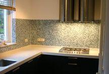 Mosaics in kitchen / Mosaics in kitchen