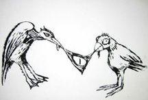 Clive's artwork / Clive Barker art