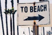 SUMMER/ BEACH! :) / Salt in the air, sand in my hair!