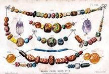 Ancient Celtic and Slavic Jewelry / The fantastic and colorful glass beads. Wonders in gold and other metals. Reproductions. Artifact.