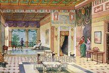 Roman House / Mosaïques... Fresques... Mobilier... Fouilles... Virtuel... Archéologie expérimentale...