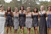 Wedding/Bridesmaide Dresses / by Catherine Jacobs