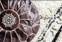M O R O C C A N pouf / Original Zoco Home leather poufs are beautifully handmade by artisans in Morocco using the finest quality leather. Each pouf has been uniquely hand stitched by highly skilled craftsmen. | www.shop.zocohome.com