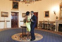 Barack and Michelle / by Sharon Nelson