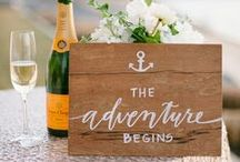 Wedding Accents & Inspiration / Ideas for your Pronghorn wedding! From flowers to table settings to signage and treats, we're cataloging the sweetest, chicest accents for your Central Oregon wedding.