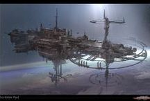 Scifi - Space Stations