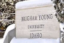 Our School / We're students at Brigham Young University-Idaho.