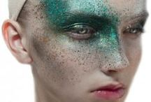Makeup / References for fashion editorial.