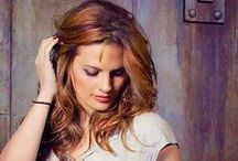 Stana Katic / Some pic with Nathan and scenes from Castle :)