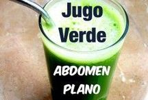 Natural juice / Comida sana y natural