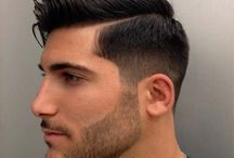 "Men's Styling / From a guy's point of view, ""Style is knowing who you are, what you want to say and not giving a damn."" (Gore Vidal.) These men's hairstyles will have your man looking sharp and ready to take on his world."