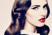 Retro & Vintage Hairstyles / A retro-inspired hairstyle looks great at any occasion.
