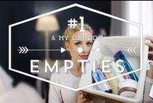 my other videos / empties, hair cut and more...