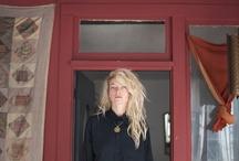definately insp, hair, clothes, colours, decoration, door