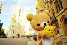•rιlακκuмα• / The adorable japanese bear and his friends throughout the world ♪