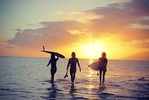 Surf Lifestyle / Our surf lifestyle in Bali and Byron Bay - sun on our skin, salt water in our hair, great friends and laughter!