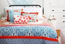 Red, White & Blue Design / In honor of 4th of July, we're exploring red, white or blue design for the home.