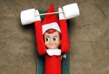 Elf on the Shelf Ideas / Ideas for Elf on the Shelf Scenes / by Kimberly Nakhleh