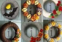 Fall Home DIY Decor / Fall, Autumn and Halloween decoration ideas and inspiration for your home this season.
