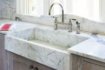 Just the Kitchen Sink / Who knew there could be so much thought put into a sink? But if you are updating or redesigning your kitchen, the sink is a focal point and major decision. Here is some fun and functional inspiration for your kitchen remodel.