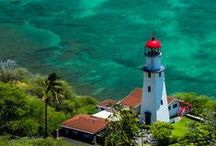 Lighthouse / Exploration never ends. Take some beautiful photos of lighthouses. This is a vey cool life you are living in.