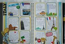 journal & scrapbook ideas