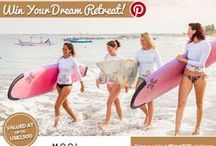 #Your2015 Win A Retreat Competition! / Pin your most inspiring image & WIN a luxury retreat to Bali, Sri Lanka, Noosa or Byron Bay worth up to US$2,500!  How to Enter:  Follow us on Pinterest - Create a board called My 2015 - Pin your most inspirational image using #EscapeHaven and #Your2015 as tags - write a caption explaining your choice - Submit your pin & WIN: http://bit.ly/16Q4wJz