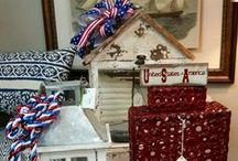 Red, White, and Blue! / by Home Finishings