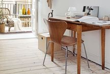 Work space / The space to be inspired, the space to think and the space to create!