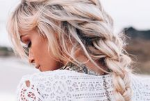 Summer Hair  / Gorgeous hair styles for any day of the year.