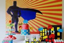 Birthday Theme: Superhero!